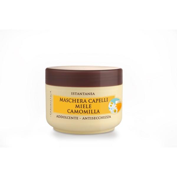 Masca pentru par catifelanta, anti-uscare, l'Erboristica, miere si musetel organice, 200 ml