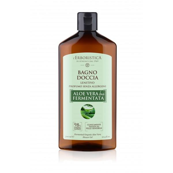 Erboristica Gel duș aloe vera bio fermentată 300 ml