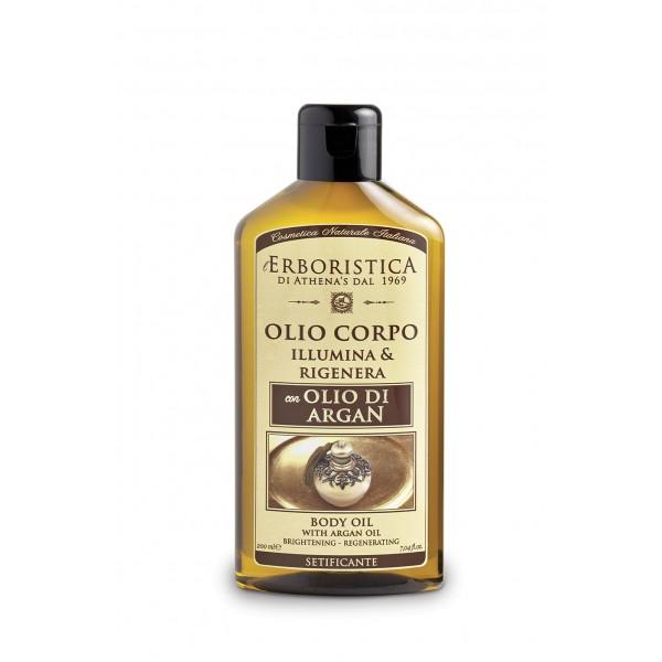 Ulei regenerant pentru corp, cu ulei de argan, ulei de seminte de in si ulei de migdale dulci 200 ml